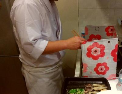 井上様 出張料理教室1