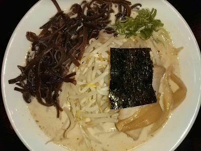 魚介とんこつ 哲麺 とんこつラーメン