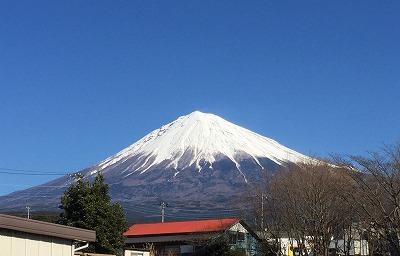 富士山 新年 大きい 富士宮