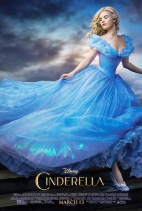 シンデレラ 実写版 美しい 青 結婚式ドレス