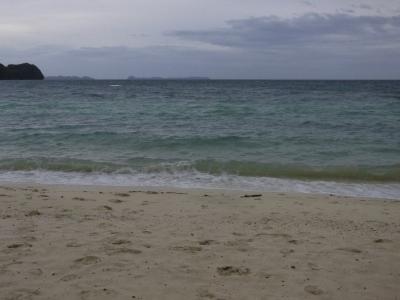 パラオ 海 雨季