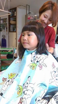 子供カット 前髪 短い前髪