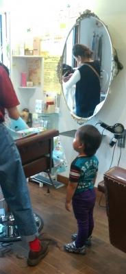 子供カット 美容院