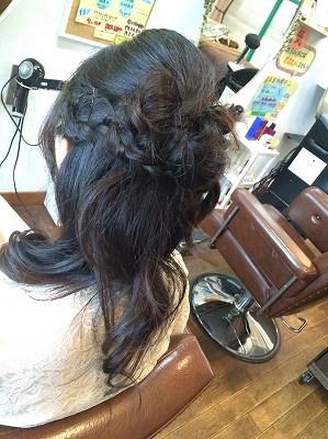 ヘアアレンジ ヘアセット ハーフアップ 結婚式 お呼ばれヘア