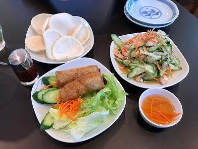 ベトナム料理 タンフン ビーフン フォー ライスペーパー 清水 タンフン シズオカ