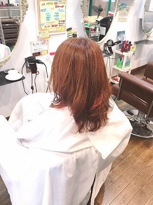 ハイトーン ピンク 春の髪色 トリートメントカラー