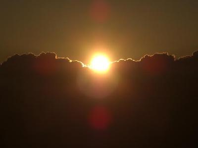 摩耶山から見た初日の出