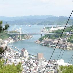 千光寺を降りる途中の風景