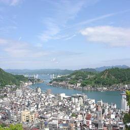 千光寺を降りる途中の風景2