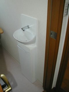 手洗いです