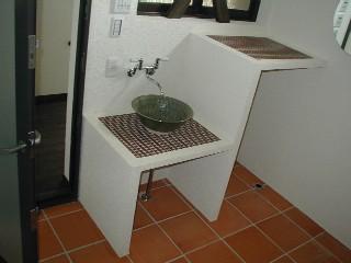 洗面・洗濯コーナーです