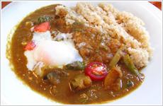 玄米野菜カリー