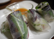 野菜の生春巻き
