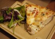 豆腐と野菜のキッシュ