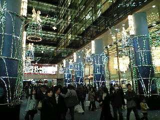 東京クリスマスイルミネーション2007@有楽町マリオン