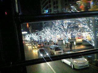 東京クリスマスイルミネーション2007@六本木ヒルズけやき坂その2