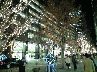 東京クリスマスイルミネーション2007@丸の内