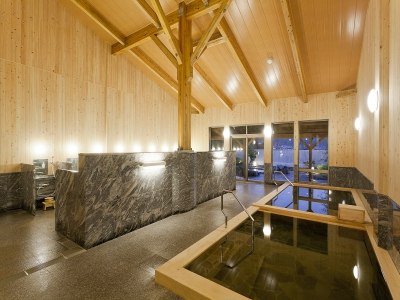 露天風呂付き大浴場
