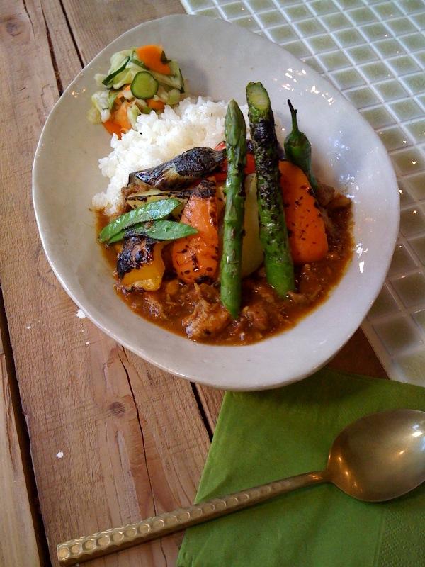 夏野菜curry