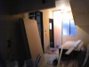 改装工事中の待合室