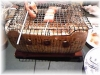 串揚げ屋のベーコン串焼き
