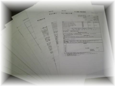 薬事監査申請書類(薬監申請書)