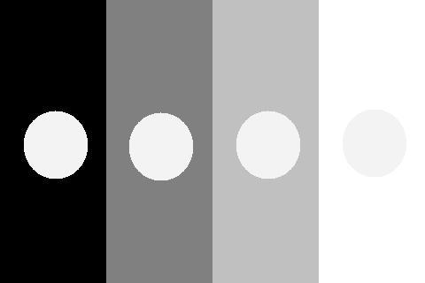 色対比 明度対比