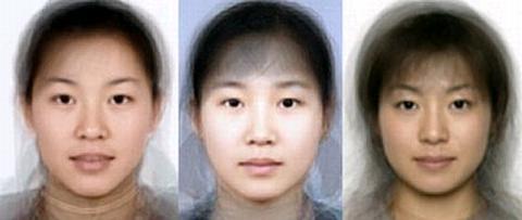 日本人 韓国人 中国人 平均顔
