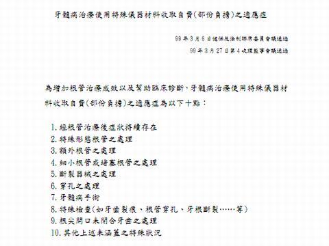 台湾 歯科 差額徴収