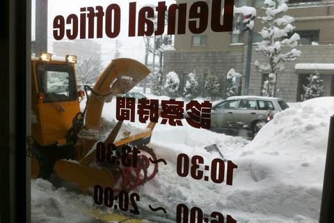 長岡市 除雪車