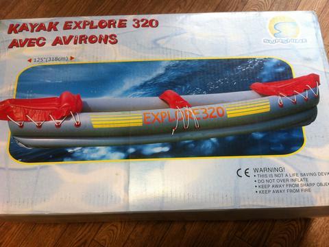 激安 インフレータブルカヤック EX320