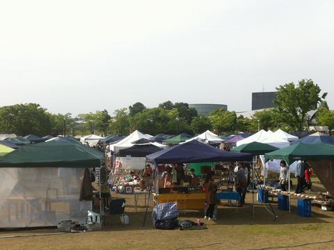 長岡クラフトフェア テント