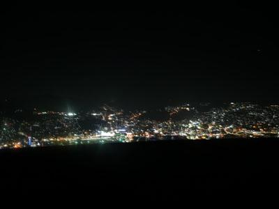 稲佐山公園展望台の夜景
