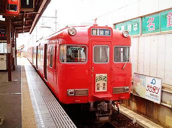 西尾線の赤電車♪