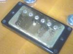 セミアコ:リアPU取り付けたの図