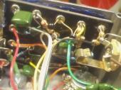 ファズ:回路基板(?)のアップ