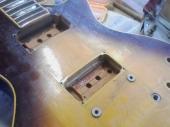 LP:塗膜割れボディのアップ図1