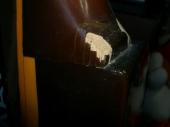 LP:割れた塗膜が剥がれちゃったの図2