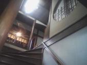 環翠楼の階段:とにかく素敵ですの図