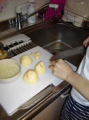 明日の弁当作り