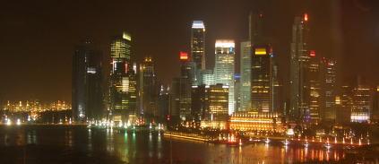 ホテルからの夜景