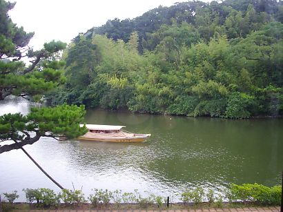 堀川遊覧船。