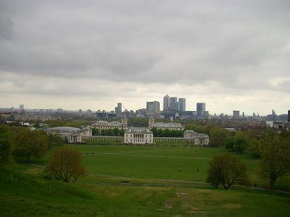 ロンドンを見渡す