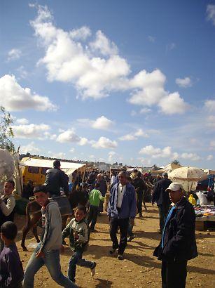 モロッコの市場