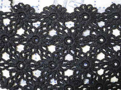 連続モチーフ編み2