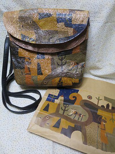 紙袋バッグ3