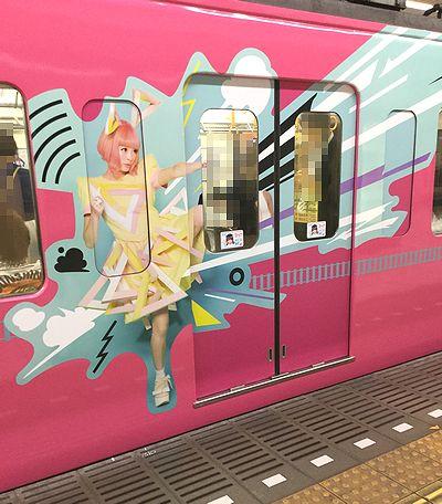 西武線コラボ電車1