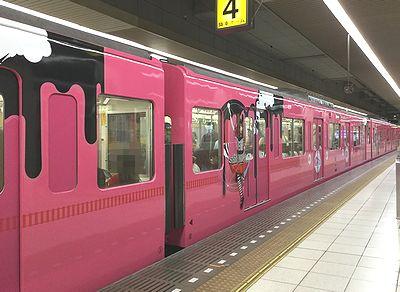 西武線コラボ電車2