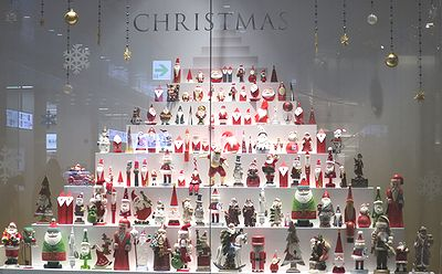 クリスマスショーウインドウ