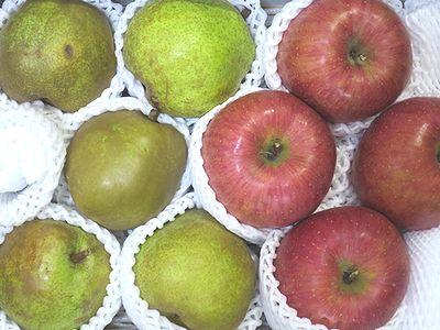 ラ・フランスとりんご
